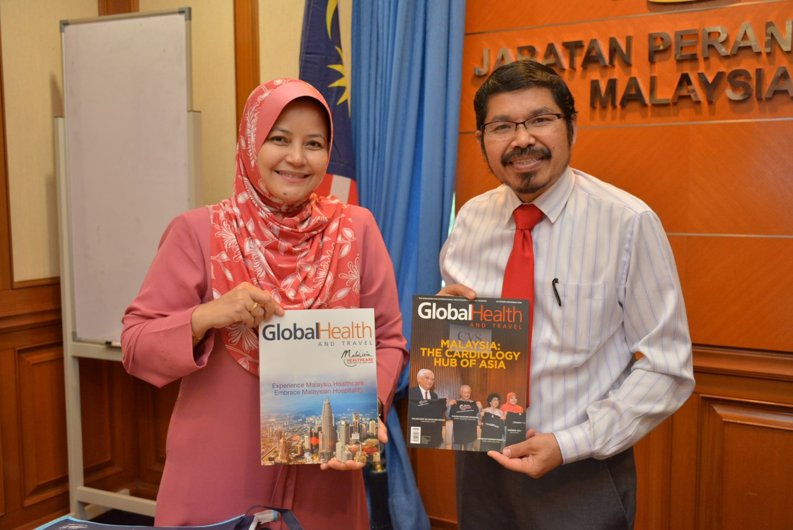 Courtesy Visit by Malaysia Healthcare Travel Council (MHTC)